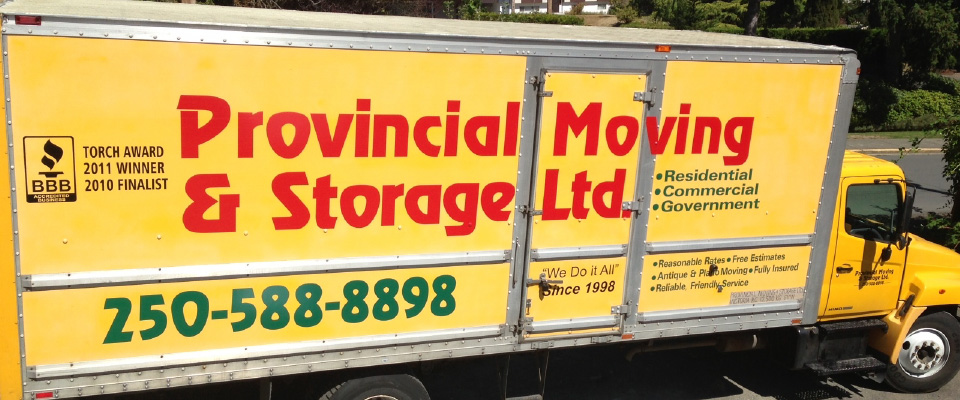 Provincial Moving van
